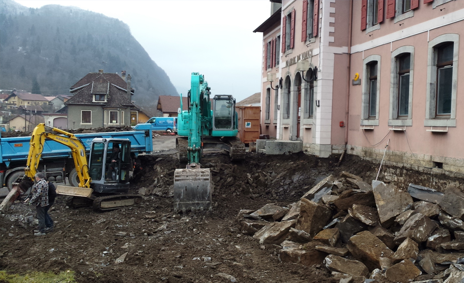 ABI MAIRIE VOUGY CHANTIER FLLOO ARCHITECTE GRENOBLE 01